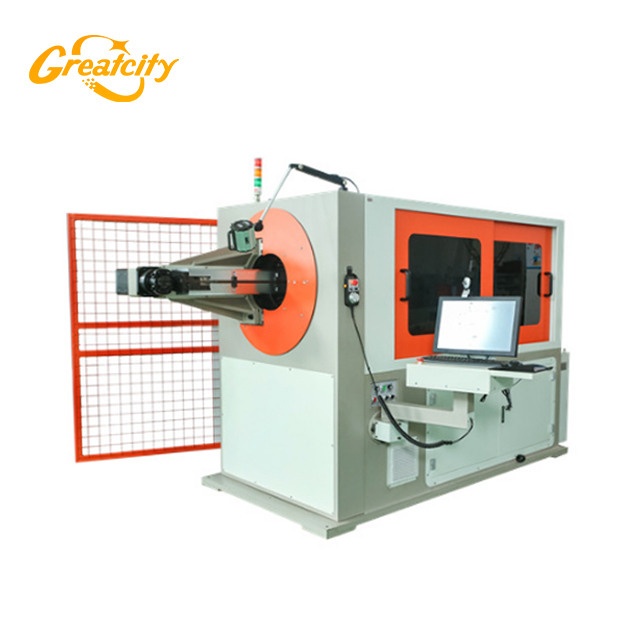Chine Greatcity fournisseur professionnel cnc machine à cintrer 3d